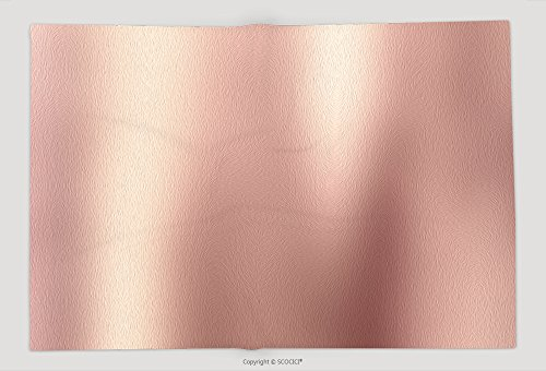 Supersoft Manta de forro polar Rose Gold Oro de fondo de metal pulido acero textura 581299399, Multi, 1