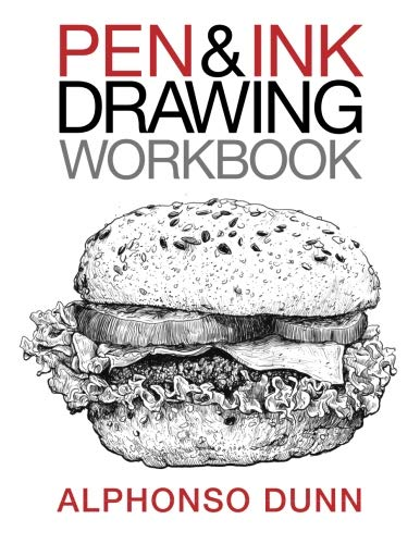 Pen and Ink Drawing Workbook (Volume 2) (Pen Making Parts)