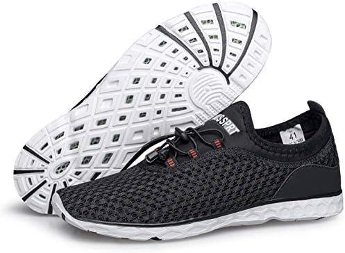 DOUSSPRT Men Water Shoes Quick Drying Sports Aqua Shoes