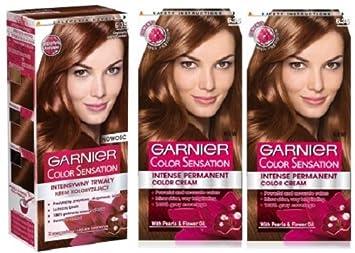Colorant pour cheveux garnier chocolat
