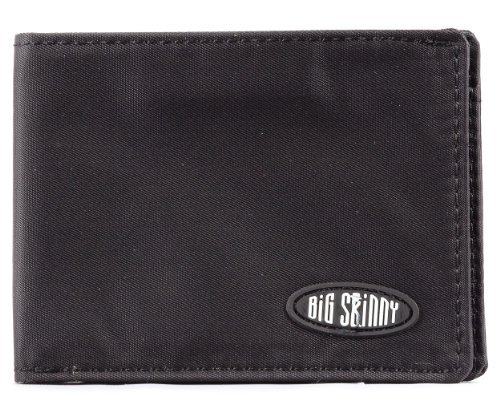 Big Skinny Men's Compact Sports Wallet Bi-fold Black