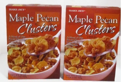 Trader Joe's Maple Pecan Clusters Cereal - 2 20 Oz (Maple Pecan Cereal)
