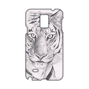 Tiger Facee 3D Phone Case for Samsung note4