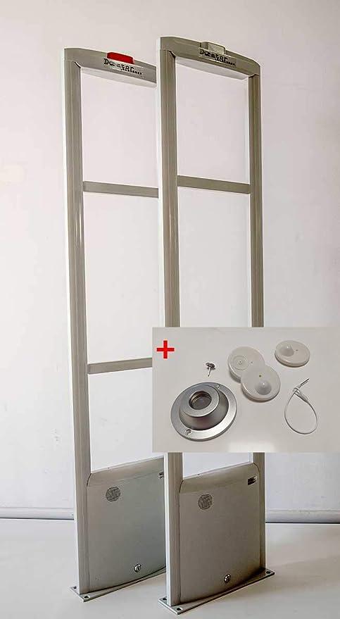 Doctor Sistemas – Kit Completo 2 Arcos antihurto + alarmas para Tienda de Ropa.