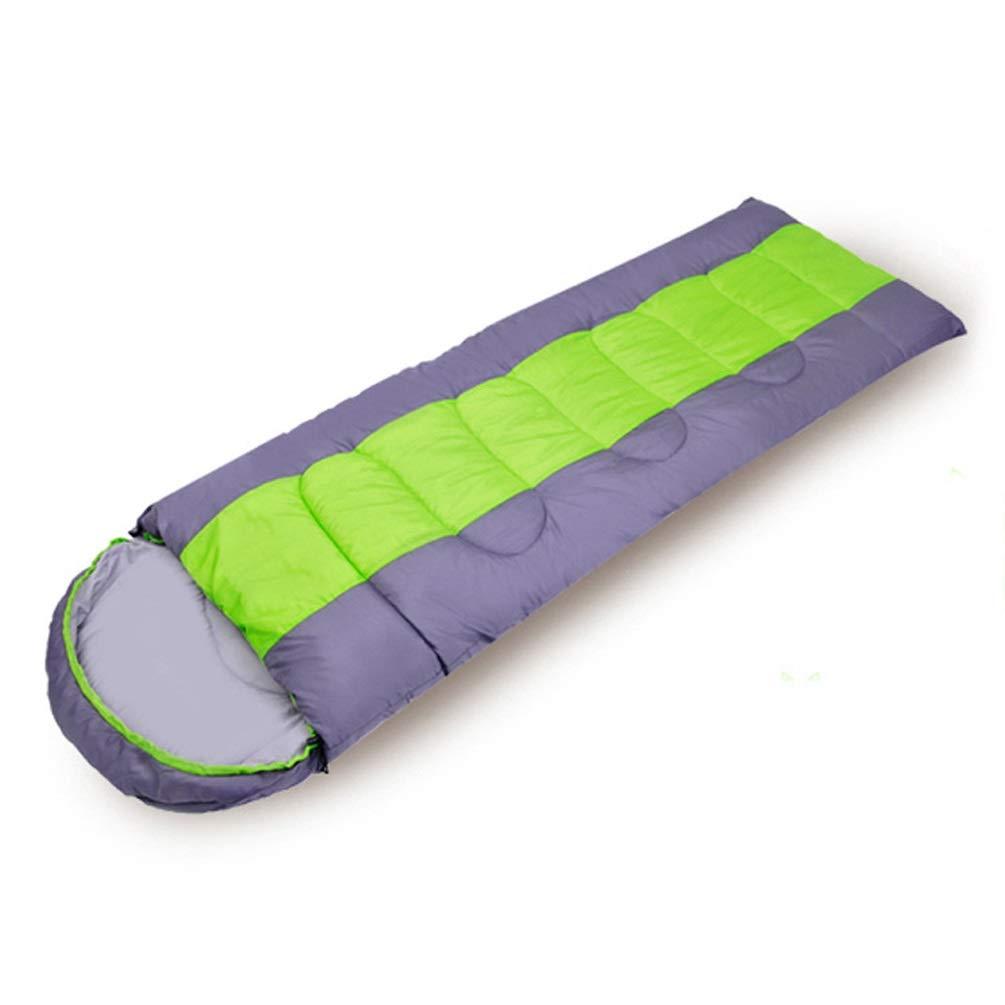 QYQ Schlafsack, der 3-4 Jahreszeit warmes Wetter und Winter leichte Wasserdichte doppelte Leute-Maschinen-waschbare kampierende Ausrüstung für das Reisen und im Freienaktivitäten erweitert