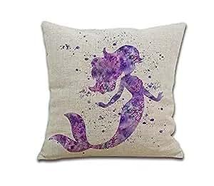 Pillowcases Mermaid 18x18(inches)
