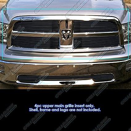 APS Fits 2009-2012 Dodge Ram 1500 Pickup Black Billet Grille Grill Insert #N19-H23768D