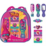 Original Dreamworks|Trolls Hair Accessories In Backpack,Official Licensed(10pcs)