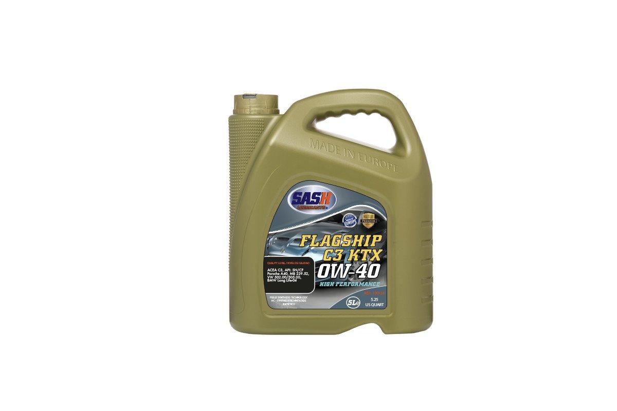 Aceite para coche 0w40