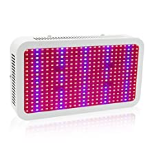 Led Grow Light Lamp 400W - EnerEco Full Spectrum 5730 SMD Chips Plant Grow Lights for Hydroponic Greenhouse Indoor Plants Growing Veg and Flower