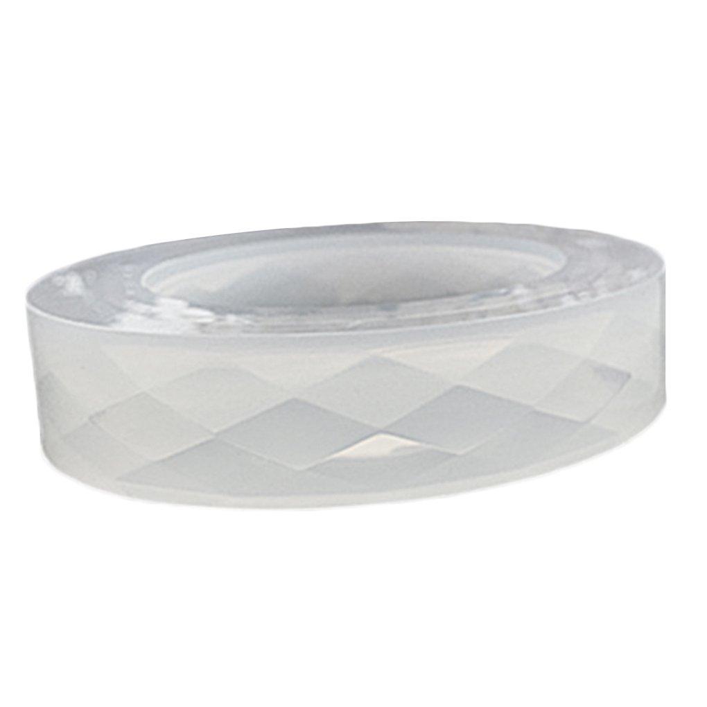 Bobury Silicona en Forma de Diamante Superficie Pulsera Molde DIY Resina Pulsera Joyería Molde