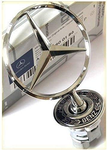 Auto Supply Mall Genuine Mercedes-Benz S C E CLK Class Hood Star Emblem 2108800186 A2108800186 Model Car /& Vehicle Accessories//Parts