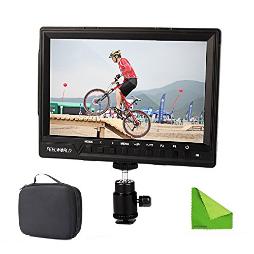 Feelworld FW760 FW-760 4K HDMI Output 7'' Video Monitor IPS