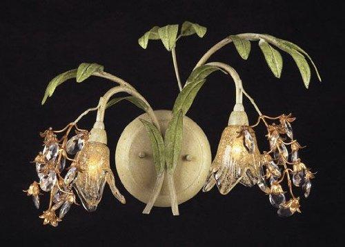 Elk 16050 2-Light Wall Bracket In Seashell and Amber (Seashell Lighting)