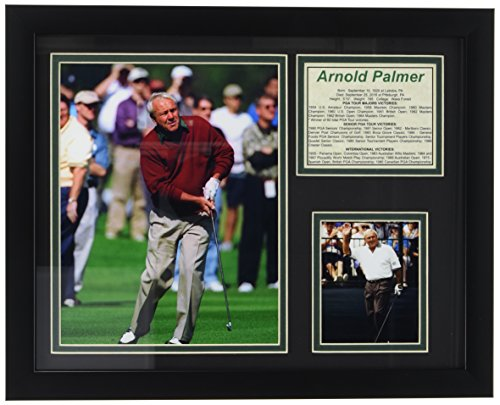 """Arnold Palmer 11"""" x 14"""" Framed Photo Collage by Legends Never Die, Inc."""