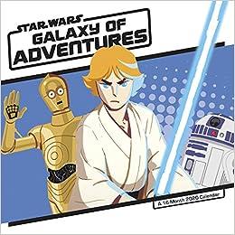 Fiction Trends 2020.Star Wars Galaxy Of Adventures 2020 Wall Calendar Trends