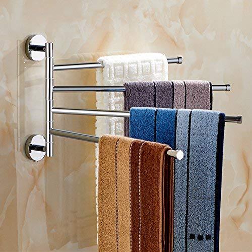 Luoshangqing 回転可能、タオルバー、銅素材、壁掛け、浴室用棚 (Color : 35*23cm) B07RRWYCF8 35*23cm