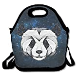 Best PackIt Ladies Lunch Bags - Panda Insulated Lunch Bag Lunch Tote Bag Travel Review