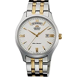 ORIENT Men's Watch WORLD STAGE COLLECTION world stage collection mechanical self-winding WV0231EV milky white WV0231EV