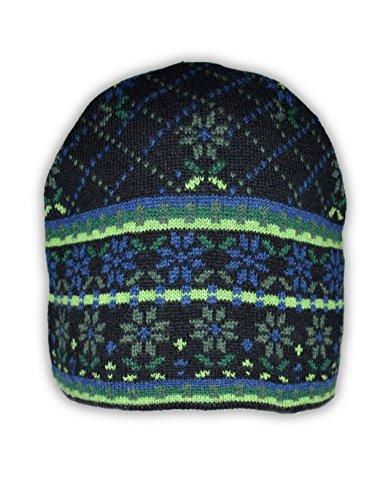 Jacquard Knit Caps - 1