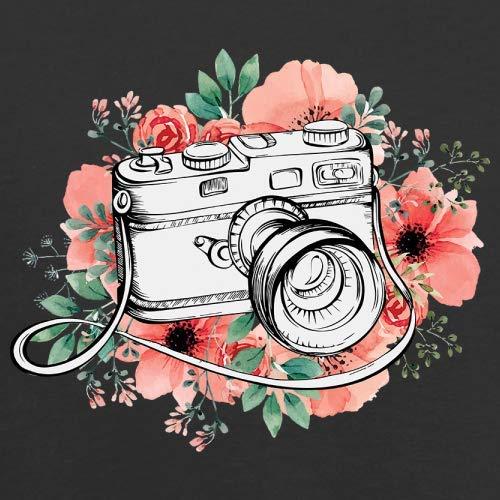 Camera Floral Kids Jumper 8 Colours