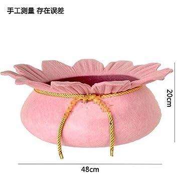 Wuwenw Mascota Gato Camada Gato Arena Camada Princesa Cama Lavable Mascota Rosa Flores: Amazon.es: Productos para mascotas