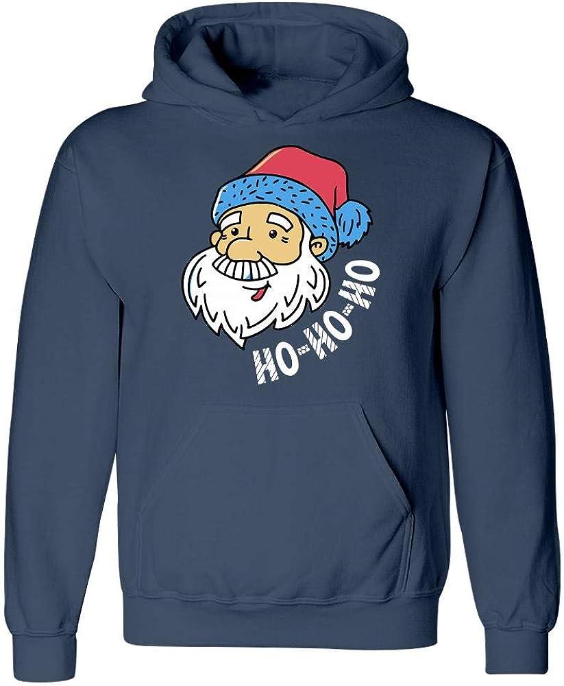 Hoodie Ho Ho Ho and Santa Cool Art Design