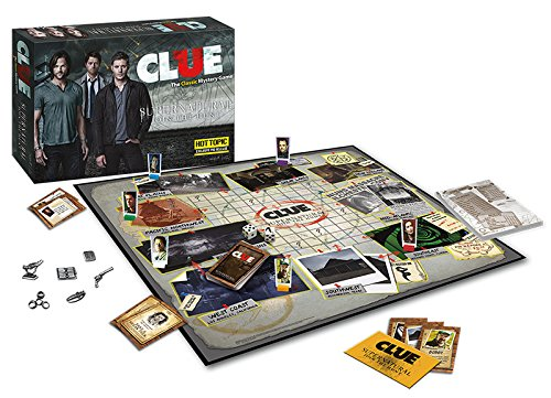 Supernatural Clue Board Game Limited Edition