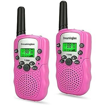 Amazon.com: 3-12 Year Old Girl Gifts, WIKI Long Range Walkie Talkies ...