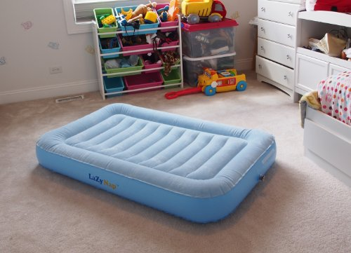 LazyNap LZ 01K Kids Air Bed With Flock Top For Camping