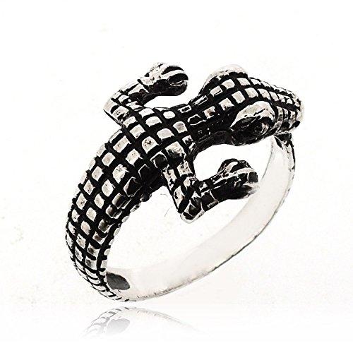 crocodile ring - 9