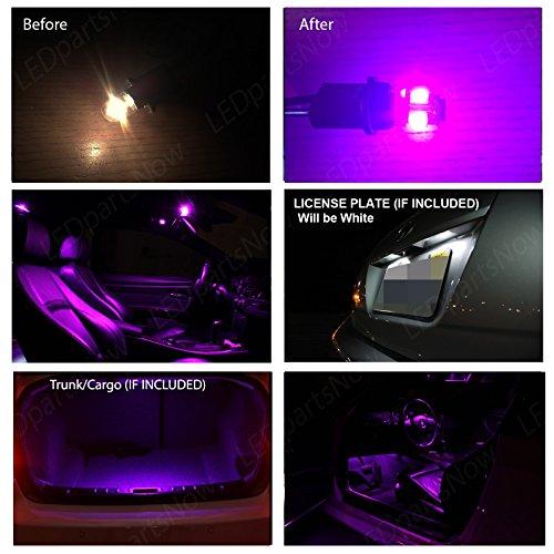 Dodge Charger 2011 Up Fuschia Purple Premium Led Interior