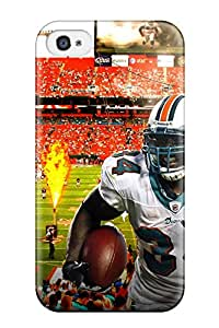 New Style Tpu 4/4s Protective Case Cover/ Iphone Case - Miamiolphins A