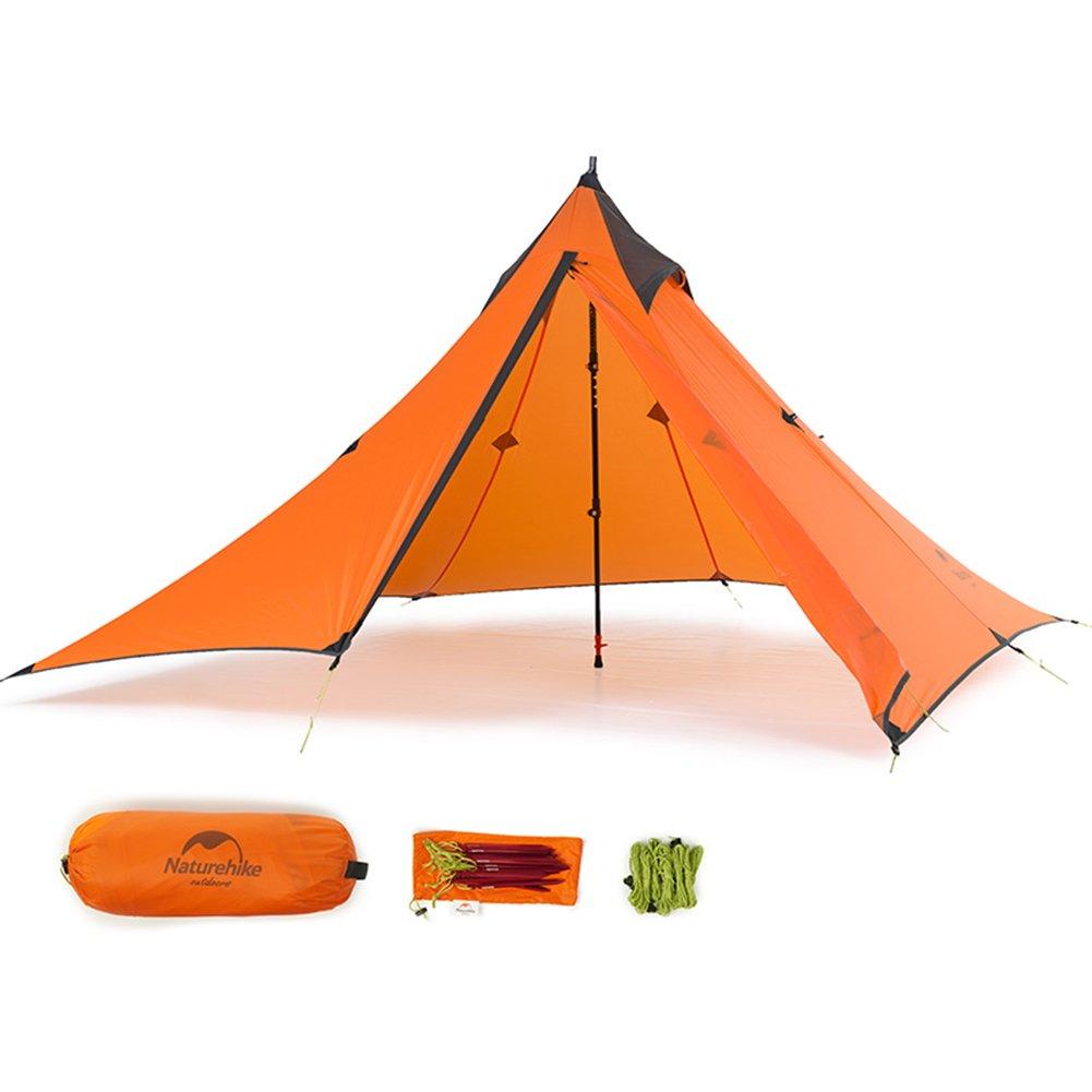 Naturehike 3 Saison Outdoor Ultraleicht 1 Person Pyramide Zelt für Camping Wandern Klettern