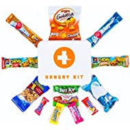 HARD PLASTIC HANGRY EMERGENCY SNACK KIT - PERFECT GIFT PACK - GREAT FOR BIKING, HIKING, CAMPING, SPORTS, MOTORCYCLE RIDES, COLLEGE KIDS !!!!! (Mini)