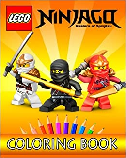LEGO NINJAGO Movie: Coloring Book for Kids: 30 Gorgeous ...