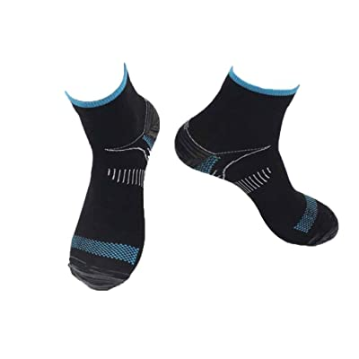 1 par Unisex del pie Calcetines de compresión Anticansancio Fascitis Plantar del talón Spurs Dolor Calcetines de Punto para Mujeres de los Hombres Regard: Hogar