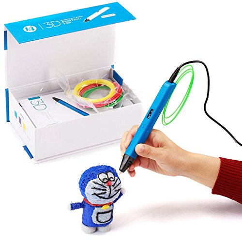 2016-Newest-Version-Manve-Intelligent-3D-Printing-Pen-3D-Drawing-Model-Making-Doodle-Arts-Crafts-Drawing-With-LED-OLED-Screen-Lightweight-Portable-Compatible-with-Power-Bank-blue