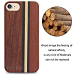 Yfwood compatible for iphone 7 wood case, real wood pattern high impact durable shockproof heavy duty back protective… 8 ❶ wooden iphone 7 case,iphone 8 case ,slim-fit, so it won't make your device bulky, or difficult to manage. Easy to access all ports,controls and buttons without removing the case. The case edges are fully covered and slightly raised to protect your screen from scratches ❷good drop protection with reinforced corners: reinforcement bumper covers all 4 corners that raised bezel to lift screen and camera off flat surface that the iphone 7 wood case offer the maximum protection for your iphone 7/8 when it dropped. ❸ ergonomic design-practical protector, this stylish and luxurious wood cover offers an enhanced grip and textured geometric design that adds even more protection to this iphone 7 case,iphone 8 case