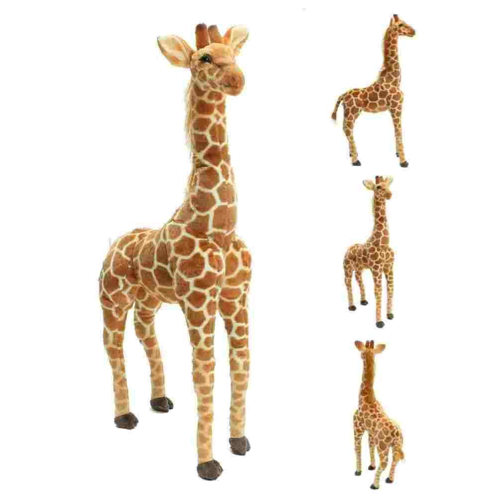 """xiangshang shangmao 40"""" Big Plush Giraffe Giant Large Soft Doll Kid Gift Stuffed Animal 100cm"""