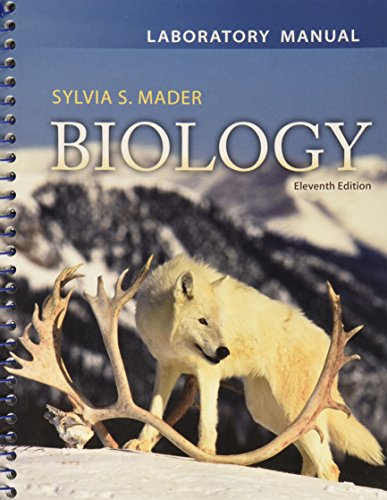 Lab Manual for Biology [Spiral-bound]