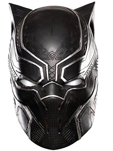 Rubie's Men's Captain America: Civil War Black Panther Full Vinyl Mask, As As Shown, One Size -