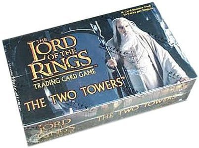 (Decipher Lord of The Rings Card Game Two Towers Booster Box)