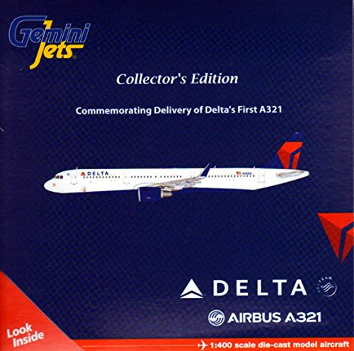 Gemini Jets A321-200 Delta with Sharklets Airplane Model