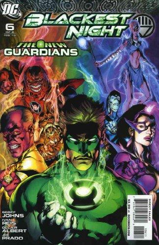 Blackest Night #6 VF/NM ; DC comic book ()