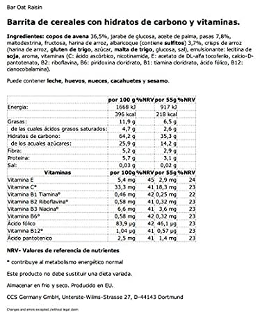 NUTRIXXION Energía Barrita Fruit 55g Set 25er Set, FlavorName Banana: Amazon.es: Salud y cuidado personal