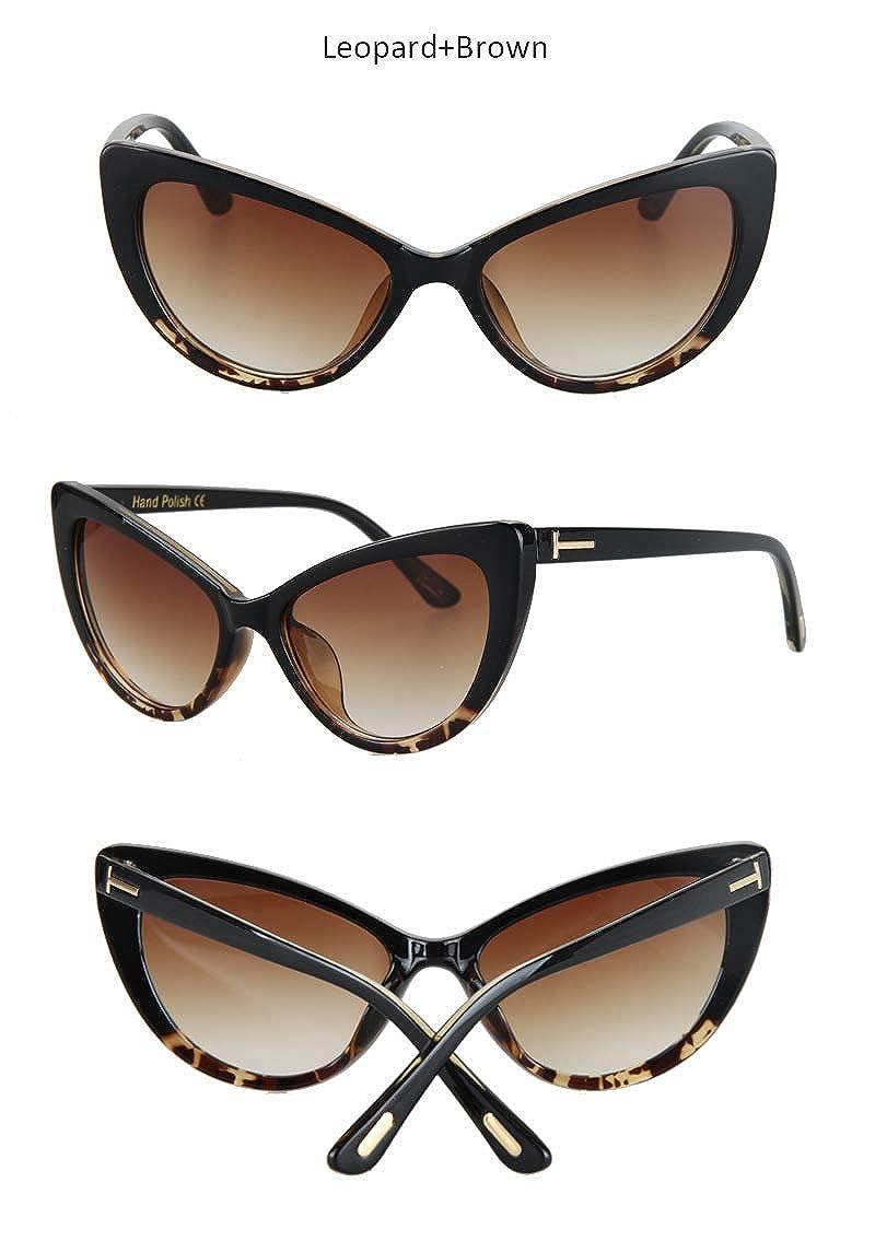 Wang-RX Gafas de sol de la moda de las mujeres de las gafas ...