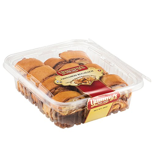 Yummys Cookies Fresh Baked Homestyle Rugelach Crescent Filled Pastries, Cinnamon, 16 oz. (Bakery Gifts Delivered)