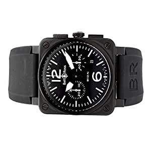 Bell & Ross BR 03 automatic-self-wind mens Watch BR03-94-S (Certified Pre-owned)