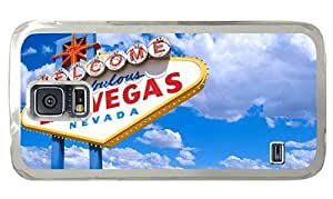 Hipster Samsung Galaxy S5 Case personalized cases Welcome to Las Vegas PC Transparent for Samsung S5